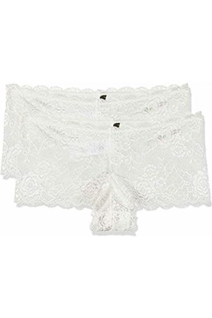 ONLY NOS Women's Onlchloe Lace Brief 2-Pack Acc Boy Short
