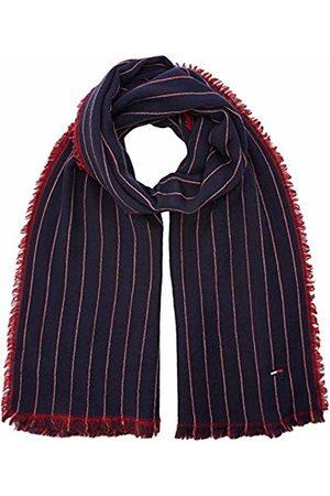 Tommy Hilfiger Men's Double Sided Stripes Scarf, Navy/Tommy 902