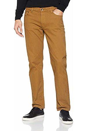 Jacamo Men's Gaberdine Straight Jeans, (Tobacco)