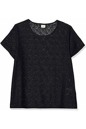 JDY Women's tag S/s Lace Top JRS Rpt2 Noos T-Shirt, Night Sky