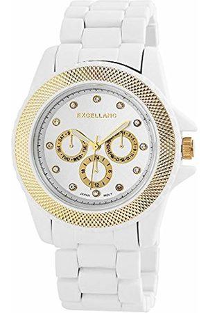 Excellanc Ladies'Watch XL Analogue Quartz 150924000011 different materials