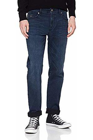 HUGO BOSS Men's Maine Bc-l-c Straight Jeans, (Dark 406)