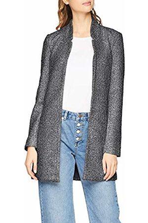 Only Women's Onlonce Soho L/s Coatigan Cc TLR Coat, (Dark Melange Detail:Melange)