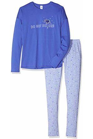 Sanetta Girl's Pyjama Long Set, (Cornflower 5357)