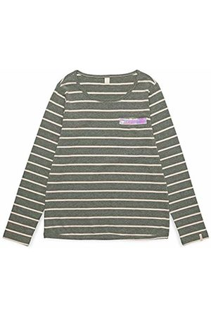Esprit Kids Girl's RM1023509 T-Shirt, (Dark Heather 201)