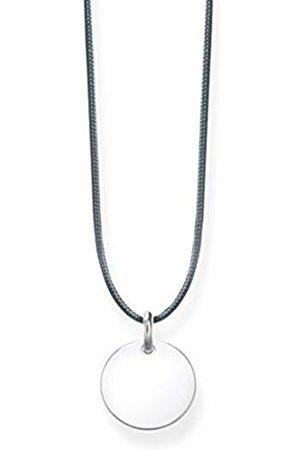 Thomas Sabo Women's 925 Sterling Glam and Soul Choker Disc Necklace of Length 80 cm LSKE002-173-5-L80v