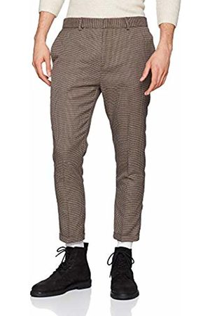 New Look Men's Dog Tooth 5992401 Trousers