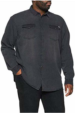 Jack & Jones Men's Jjesheridan Shirt L/s Ps Noos Casual ( Denim Fit: Plus Size)