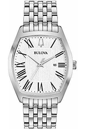 BULOVA Womens Analogue Classic Quartz Watch with Stainless Steel Strap 96M145