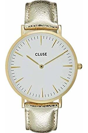 Cluse Womens Analogue Classic Quartz Watch with Leather Strap CL18421