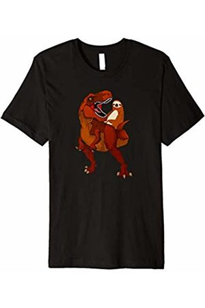 Ride Dinosaur Shirt Men Women Kids Sloth Riding Dinosaur Shirt-Funny Graphic Trex Gift T Shirt
