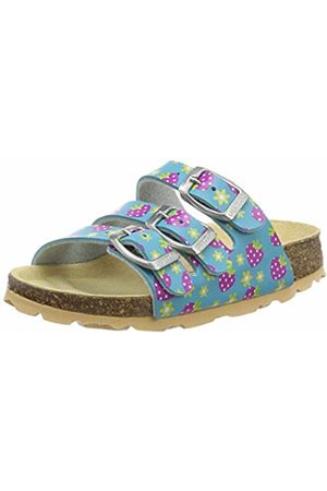 Superfit Girls' Fussbettpantoffel Open Back Slippers