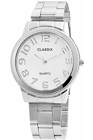 Classix Mens Analogue Quartz Watch with Stainless Steel Strap RP1362200001