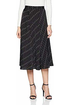 s.Oliver Women's 14.901.77.3245 Skirt, ( Floral Print 99c6)