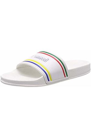 Hummel Unisex Adults Slide Retro Beach & Pool Shoes, ( 9001)