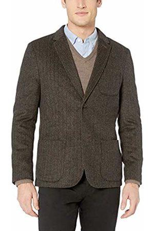 Goodthreads Men's Slim-Fit Wool Blazer, tan