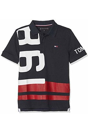 Tommy Hilfiger Boy's Nautical Numbers Polo S/s Shirt
