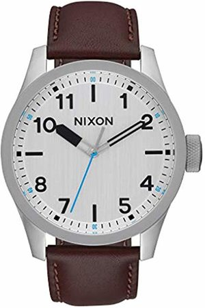 Nixon Mens Analogue Quartz Watch with Leather Strap A975-1113-00