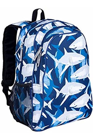 Wildkin Children's Backpack with Side Pocket - Sharks