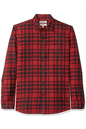 Goodthreads Men's Standard-Fit Long-Sleeve Brushed Flannel Shirt, - / plaid