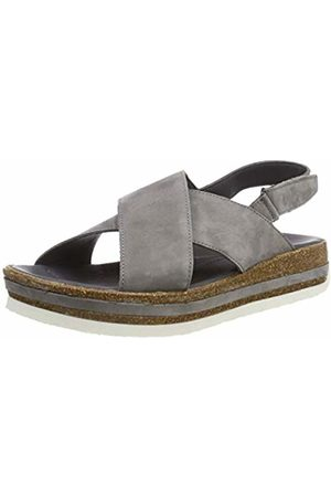 Women's Zega_484388 Sling Back Sandals, (Mouse 10)