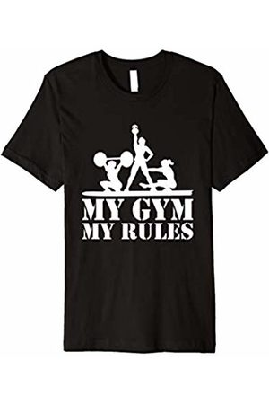 Weightlifting Gym Trainer Bodybuilding Iron Tee My Gym My Rules T-Shirt for Gym Owner and Fitness Trainer
