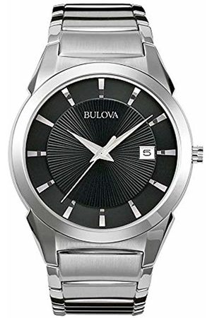 BULOVA Mens Analogue Classic Quartz Watch with Stainless Steel Strap 96B149
