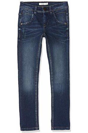 Name it Boy's Nkmsilas Dnmtroels 3155 Pant Noos Trouser, (Dark Denim)