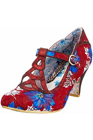 Irregular Choice Women's Nicely Done T-Bar Heels, ( Multi W)
