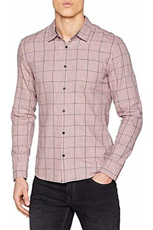 s.Oliver Men's 40.901.21.8150 Casual Shirt, ( Check 38n0)