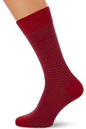 HUGO BOSS Men's Marc Rs Stripe Cc Calf Socks, (Medium 610)