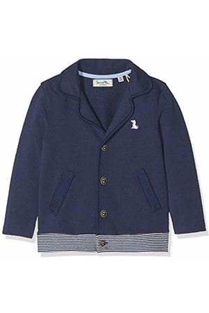 Sanetta Baby Boys' Blazer Sweat Jacket, (Deep 5993)