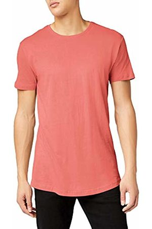 Urban classics Men's Shaped Long Tee T-Shirt