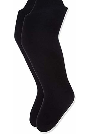 Name it Girl's Nkfpantyhose 2p Noos Leggings, Schwarz