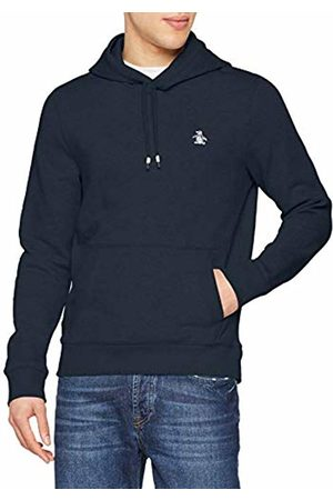 Original Penguin Men Hoodies - Men's Over Head Hoodie, (Dark Sapphire)