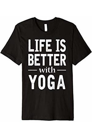 Yoga Loves Tee Life Is Better With Yoga T-shirt Gift