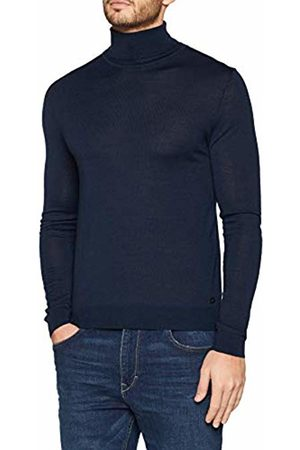 s.Oliver Men's 12.811.61.5422 Turtleneck, (Deep 5862)