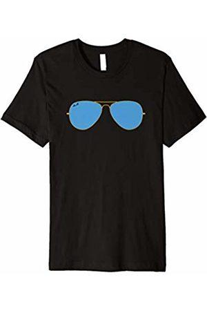 WearQ Apparel - Pilot Best Pilot Sunglasses T-Shirt   Funny and Cool Aviator Gift