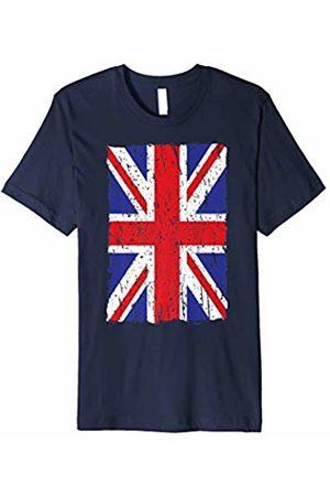 dce6a053fbc United Kingdom Flag Distressed British UK Union Jack T Shirt