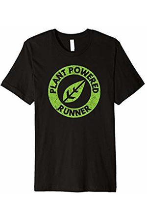 Plant Powered Vegan Runner Clothing Plant powered runner vegan trail ultra marathon t-shirt