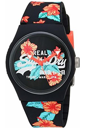 Superdry Womens Analogue Quartz Watch with Leather Strap SYL160BO