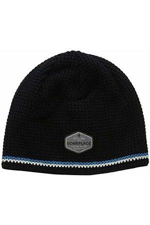 maximo Boys' 83578-206600, Beanie Hat, (Schwarz 46)