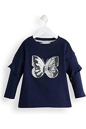 RED WAGON Girl's Butterly Sequin Sweatshirt