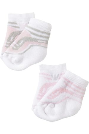 Armani 2 Pairs Of Cotton Knit Socks