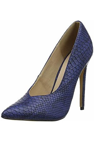 Lost Ink Women's Chase Closed Toe Heels