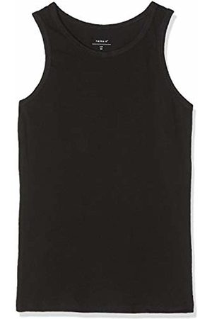 Name it Baby Boys' Nmmtank Top 2p Noos Vest, Schwarz