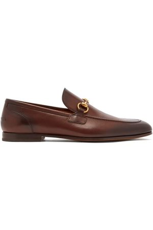 Gucci Jordan Horsebit Leather Loafers - Mens