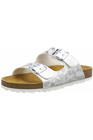 LICO Women's Bioline Platino Low-Top Slippers, Silber