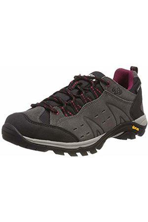 Bruetting Unisex Adults' Mount Bona Low Rise Hiking Shoes, Grau/Schwarz/Bordeaux