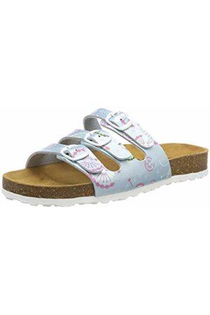 LICO Women's Bioline Flower Kids Low-Top Slippers, Mint
